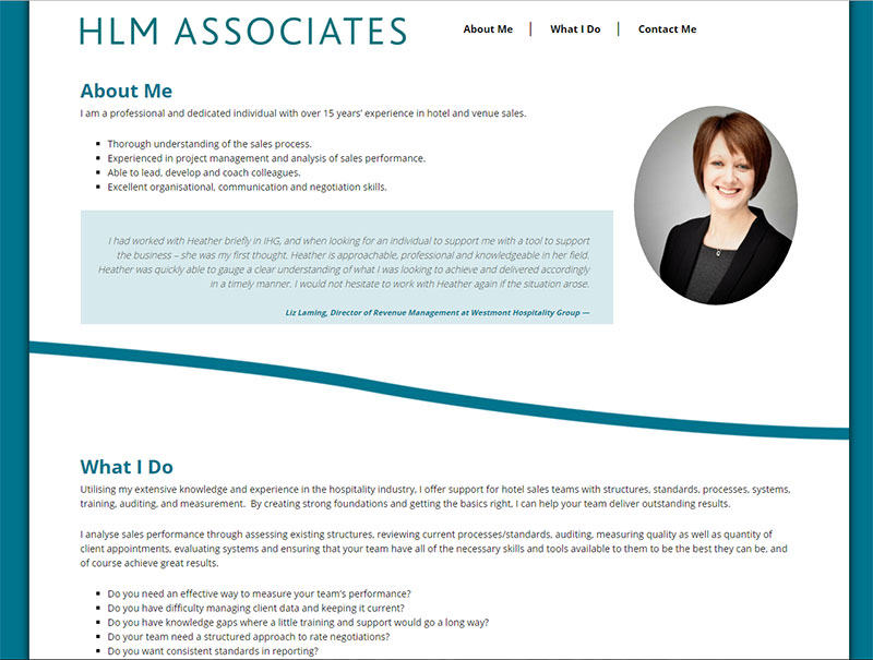 HLM Associates Website